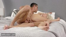Blonde virgin Masha – anal and pussy defloration